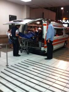 Imagen con fines ilustrativos. Entrada de emergencias Hospital San Juan de Dios. CRH