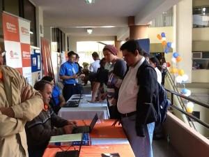 Feria de empleo capta a jóvenes y adultos. CRH