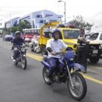 Tránsito multó a 824 motociclistas por no usar casco. CRH