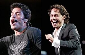 Chayanne y Marc Anthony estarán en Costa Rica. Foto tomada de Internet.