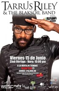 Tarrus Riley llenará de reggae Costa Rica. CRH