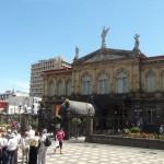 Para el 115 aniversario del Teatro Nacional que será en octubre próximo, se prepara una exposición fotográfica. Archivo CRH