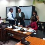 Comisión de Asuntos Hacendarios. Foto archivo CRH.