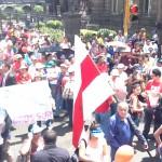Las constantes manifestaciones y protestas de diferentes sectores ponen en evidencia el descontento popular.CRH