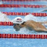 Phelps pasa a las semifinales con el quinto mejor tiempo en los 200 mariposa. EFE