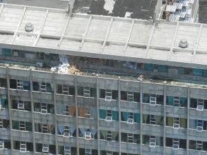 Imagen del Hospital Monseñor Sanabria, tomada en sobrevuelo esta mañana.