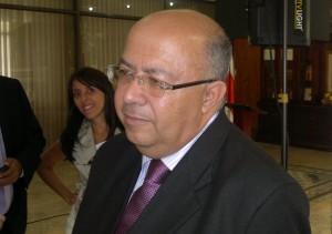 El Ministro de Comunicación, Carlos Roverssi . (CRH/Archivo)