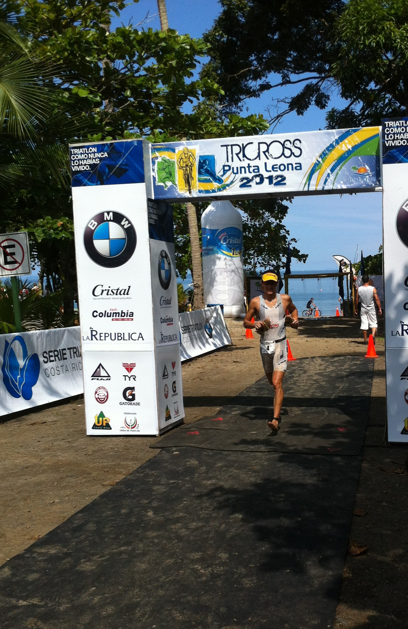 El Triatlón Cross llegó a Punta Leona.