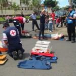 Cruz Roja reporta 93 muertes en sitio y 194 pacientes delicados durante febrero