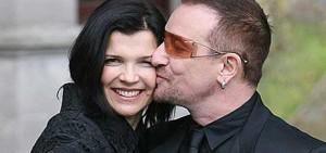 Bono y su esposa disfrutan de unos días en Cóbano. Foto internet.
