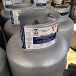 La planta envasadora de Gas Z fue cerrada hoy cerca de la 1 p.m. en Caldera. CRH