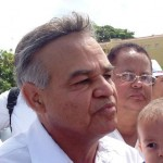 En la imagen el legislador, Justo Orozco. CRH
