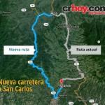 Nueva vía a San Carlos no necesitará puentes de cuatro carriles sino hasta dentro de 10 años