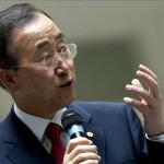 """Ban Ki-moon: """"Solución a problemas globales sólo se logrará con acciones colectivas"""""""