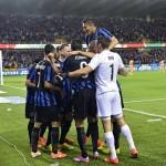 Oscar Duarte y el Brujas mantienen paso firme en la liga belga