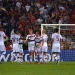¡Sin piedad!, El Bayern Múnich le pasó por encima a la Roma y le marcó siete goles