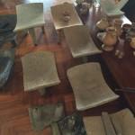 Recuperan más 70 piezas arqueológicas precolombinas auténticas de una casa en Santa Ana