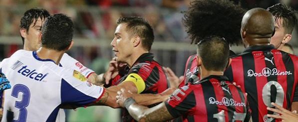 """Johan Venegas: """"Me gorrearon con un golpe en la espalda"""""""