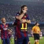 Neymar, Messi y la cantera le dan importante victoria al Barcelona sobre el Ajax