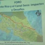 Dos empresas analizan la construcción de un canal seco en el país