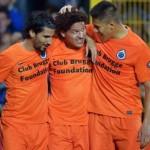 Oscar Duarte y el Brujas de Bélgica están a un paso de avanzar a la siguiente ronda en la Europa League