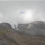 Volcán Turrialba empuja la tierra 7 milímetros cada año desde hace cuatro años