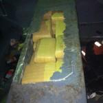 Decomisan 762 kilos de marihuana en lancha y flotadores en Moín, Limón