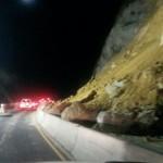 Nuevo derrumbe complica el paso a conductores en la Ruta 27