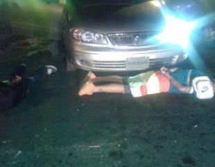 Detienen a tres hombres que trasladaban un cadáver dentro de un vehículo en Pavas
