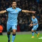 """""""Kun"""" Agüero le da una noche mágica al Manchester City en la Champions League"""