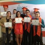 1.200 jóvenes cuentan con carrera técnica que los hará más atractivos para el mercado laboral