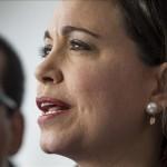 Machado afirma que su imputación es por decir que en Venezuela hay dictadura