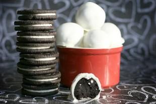 Un postre delicioso y facilísimo: trufas de galleta de chocolate