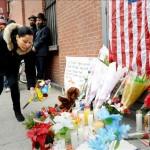 Nueva York, una ciudad tensa y dividida tras el asesinato de dos policías