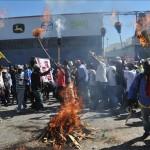 Opositores haitianos contra Martelly recorren calles exigiendo su dimisión