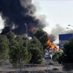Al menos diez muertos al estrellarse un avión militar griego en España