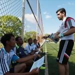 Técnico formador de entrenadores del Real Madrid dicta un curso en Panamá