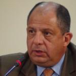 Luis Guillermo Solís sostuvo reunión anoche con Rodrigo Arias