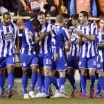 Celso se luce con un doblete en su debut con el Deportivo