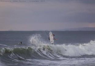 Anthony Fillingim ganó la primera fecha del Circuito Nacional de Surf