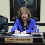 Diputada Nidia Jiménez presentó hoy su renuncia a la subjefatura de fracción del PAC