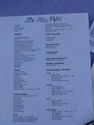 AGENDA FIA 2015