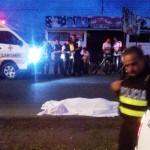 Hombre fallece tras recibir varias heridas de arma de fuego y arma blanca en Paso Canoas