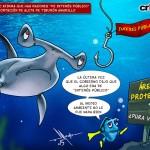 """crToons: Director del Sinac afirma que hay razones """"de interés público"""" para permitir exportación de aleta de tiburón amarillo"""