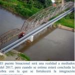 Donativo para construir puente en Sixaola va con el propósito de unir a Centroamérica, dice Embajador de México