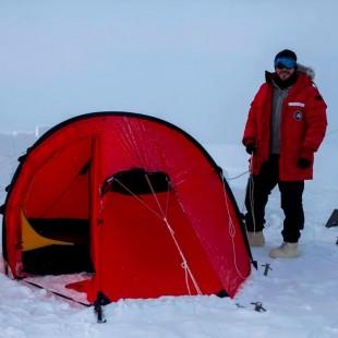 Sismólogo tico estuvo tres meses a -20 °C para investigar sismos en la Antártida