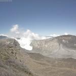 Desgasificación y sismos siguen constantes en el Turrialba