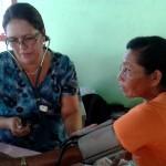Pobladores de Isla Caballo recibieron charlas sobre diabetes, hipertensión y primeros auxilios