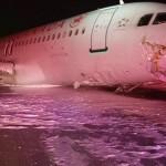 23 heridos leves durante el aterrizaje de un avión de Air Canada en Halifax