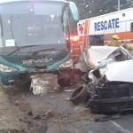 Noche y madrugada dejan dos fallecidos y seis heridos, mayoría por accidentes de tránsito
